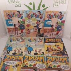 Cómics: LOTE DE TEBEOS ZIPI Y ZAPE.9 TEBEOS.ALGUNO REPETIDO.. Lote 157253100