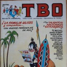Cómics: REVISTA N°1 TBO LA FAMILIA ULISES 1988. Lote 157344380
