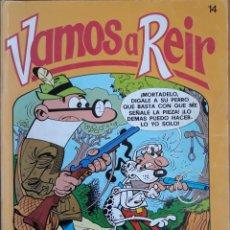 Cómics: TEBEO N°14 VAMOS A REÍR 1987. Lote 157359428