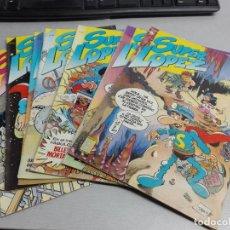 Cómics: SUPER LÓPEZ REVISTA / LOTE CON 7 NÚMEROS / EDICIONES B 1987. Lote 157384506
