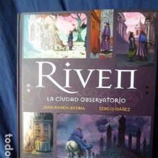 Cómics: RIVE II LA CIUDAD OBSERVATORIO JUAN RAMON BIEDMA -SERGIO IBAÑEZ. Lote 157761610