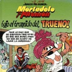 Comics : MORTADELO FILEMÓN: BAJO EL BRAMIDO DEL TRUENO! (EDICIONES B, 2006) DE IBAÑEZ. MAGOS DEL HUMOR-112. Lote 157979106