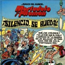 Comics : MORTADELO Y FILEMÓN: SILENCIO SE RUEDA (EDICIONES B,1995) DE IBAÑEZ. MAGOS DEL HUMOR-63. Lote 157979406