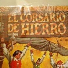 Cómics: EL CORSARIO DE HIERRO--EDICION HISTÓRICA--COMPLETA---EXCELENTE ESTADO CON POSTER. Lote 158495498