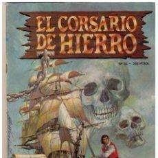 Cómics: EL CORSARIO DE HIERRO Nº 34 ED. HISTORICA (ED. B). Lote 158655154