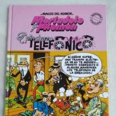 Cómics: MAGOS DEL HUMOR, MORTADELO Y FILEMON EL PINCHAZO TELEFONICO. TAPA DURA. 1998. 2º EDICION. Lote 158700050