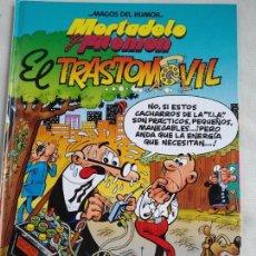 Cómics: MORTADELO Y FILEMON. EL TRASTOMOVIL MAGOS DEL HUMOR. 1998. Lote 158701886