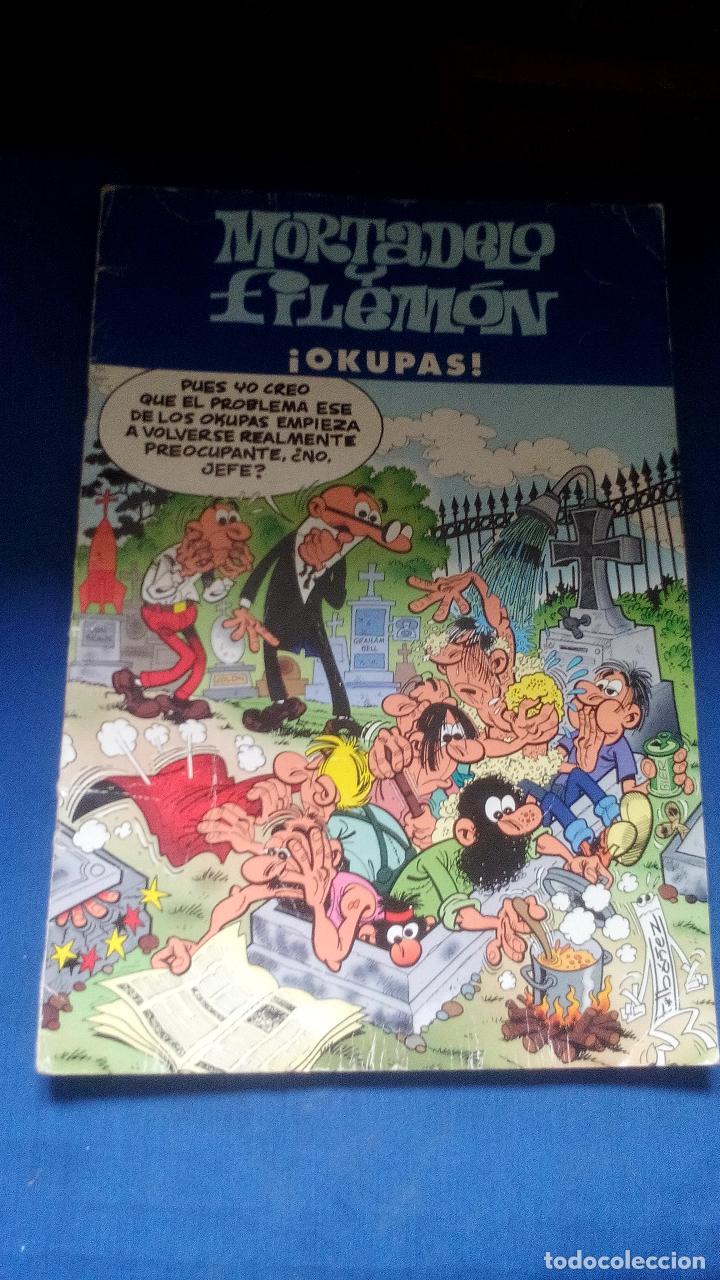 MORTADELO Y FILEMON ¡ OKUPAS ! (Tebeos y Comics - Ediciones B - Clásicos Españoles)