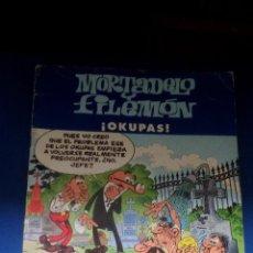 Cómics: MORTADELO Y FILEMON ¡ OKUPAS !. Lote 158717170