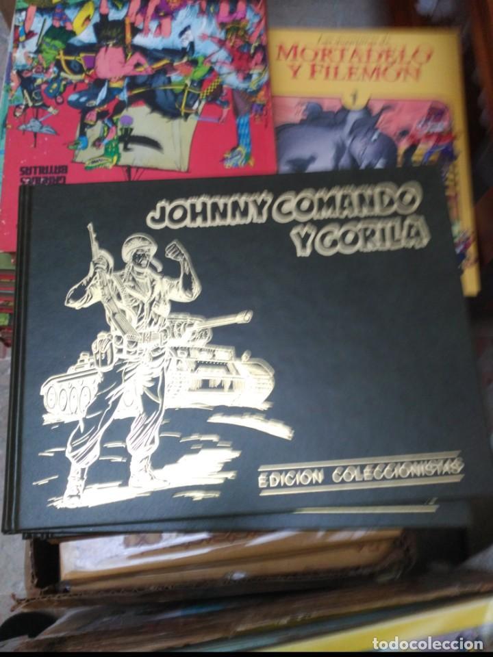 JOHNNY COMANDO Y GORILA. COLECCIÓN COMPLETA 5 TOMOS TAPA DURA (Tebeos y Comics - Ediciones B - Otros)
