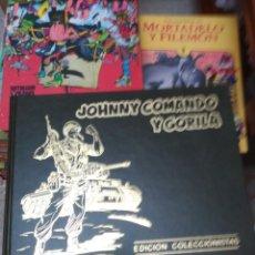 Cómics: JOHNNY COMANDO Y GORILA. COLECCIÓN COMPLETA 5 TOMOS TAPA DURA. Lote 159123134