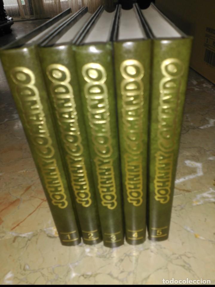 Cómics: Johnny Comando y Gorila. Colección Completa 5 TOMOS Tapa Dura - Foto 2 - 159123134