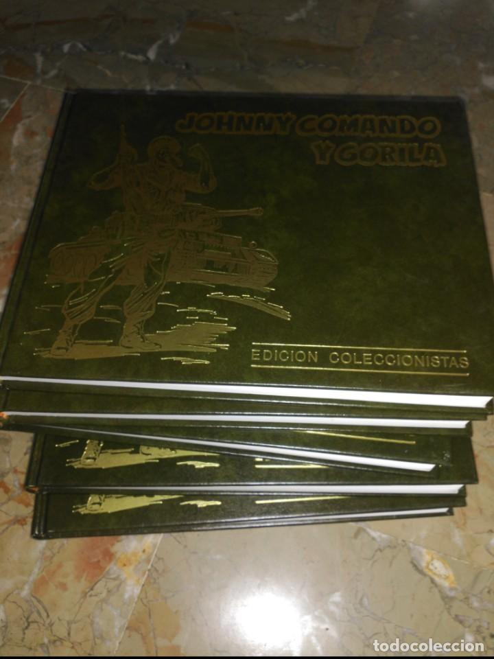 Cómics: Johnny Comando y Gorila. Colección Completa 5 TOMOS Tapa Dura - Foto 5 - 159123134