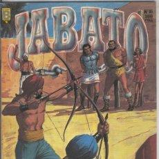 Cómics: JABATO Nº 85 EDICION HISTORICA.VICTOR MORA.EDICIONES B.1987.. Lote 159868074