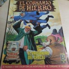 Cómics: EL CORSARIO DE HIERRO Nº 44.EDICION HISTORICA.VICTOR MORA.EDICIONES B.1988.. Lote 295771243