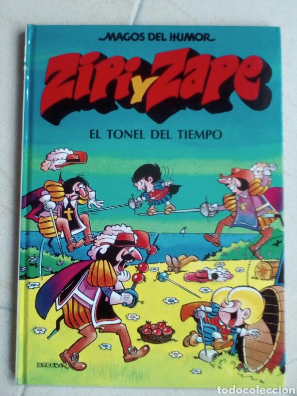 ZIPI Y ZAPE. MAGOS DEL HUMOR 14. EL TONEL DEL TIEMPO (Tebeos y Comics - Ediciones B - Humor)