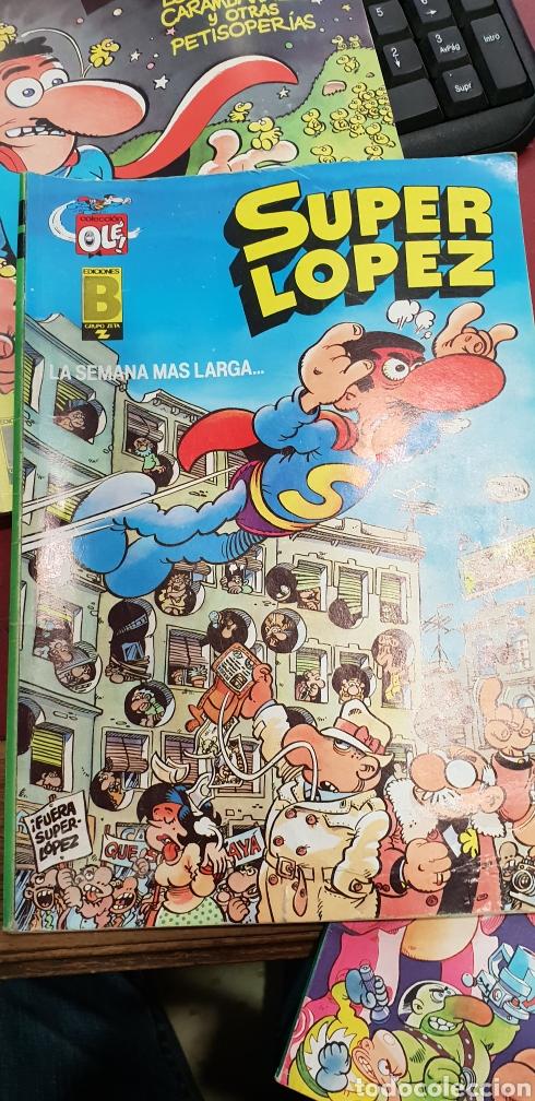 Cómics: Lote de 3 tebeos super lopez años 90 numeros 1 6 15 - Foto 4 - 160073050