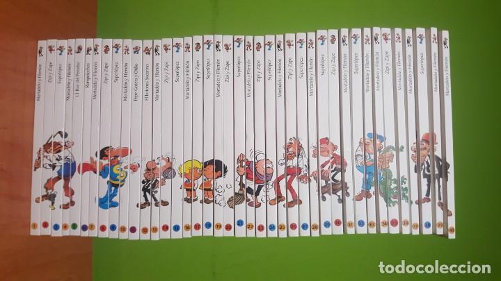 MORTADELO Y FILEMÓN COLECCIÓN COMPLETA 40 TOMOS BIBLIOTECA EL MUNDO - EDICIONES B - 2005 (Tebeos y Comics - Ediciones B - Humor)