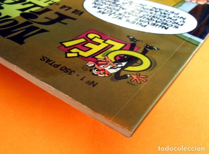 Cómics: OLÉ Nº 1, MORTADELO Y FILEMÓN - EDICIONES B, 1ª EDICIÓN 1993, - F. IBÁÑEZ - REGALO 25 MORTADELOS - Foto 8 - 151397130