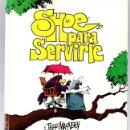 Cómics: SHOE, PARA SERVIRLE. Nº 3. JEFF MACNELLY. TIRAS DE PRENSA. EDICIONES B, 1989. Lote 160236389
