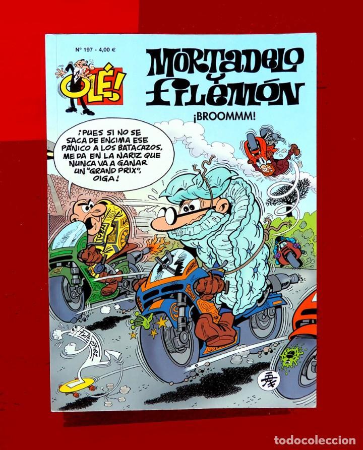 OLÉ Nº 197, MORTADELO Y FILEMÓN - EDICIONES B, 1ª EDICIÓN 2014, - F. IBÁÑEZ - ORIGINAL - NUEVO (Tebeos y Comics - Ediciones B - Humor)