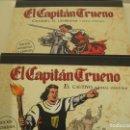 Cómics: EL CAPITAN TRUENO--COMPLETA- MORA AMBROS--EDICION NUMERADA LIMITADA--EL CAUTIVO-CHANDRA USURPADOR. Lote 160332966