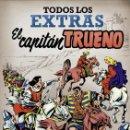 Cómics: EL CAPITAN TRUENO. TODOS LOS EXTRAS - EDICIONES B - CARTONE - IMPECABLE - OFF15. Lote 160337378