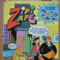 Cómics: ZIPI ZAPE Nº568. Lote 160977806