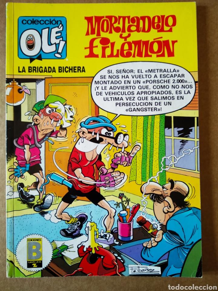 MORTADELO Y FILEMÓN: LA BRIGADA BICHERA. COLECCIÓN OLÉ! N°219-M.121 (EDICIONES B, 1989). 1A EDICIÓN (Tebeos y Comics - Ediciones B - Humor)