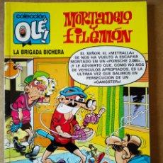 Cómics: MORTADELO Y FILEMÓN: LA BRIGADA BICHERA. COLECCIÓN OLÉ! N°219-M.121 (EDICIONES B, 1989). 1A EDICIÓN. Lote 161229616