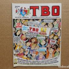 Cómics: TBO Nº 13 - REVISTA MENSUAL - EDICIONES B - GRUPO ZETA - MUY BUEN ESTADO. Lote 161230150