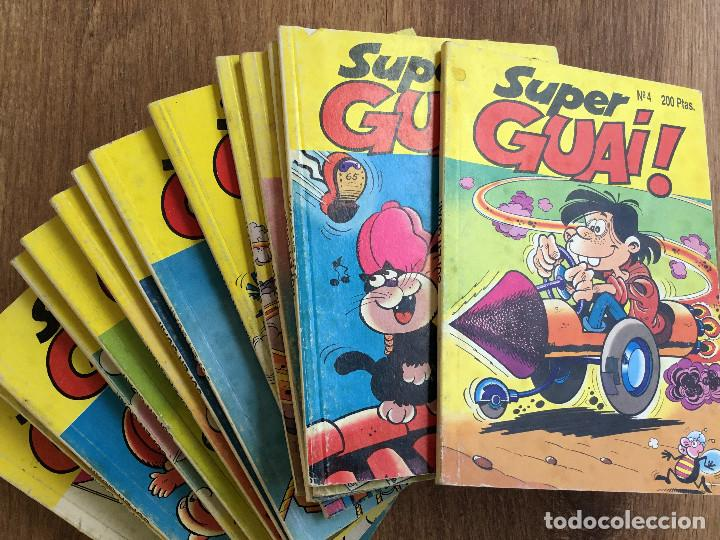SUPER GUAI ! ( LOTE 14 NÚMEROS ) EDICIONES B 1991 (Tebeos y Comics - Ediciones B - Humor)
