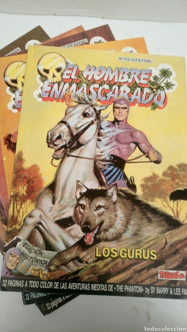 EL HOMBRE ENMASCARADO, LOTE DE 5, SUELTOS A 1,95 €. (Tebeos y Comics - Ediciones B - Otros)