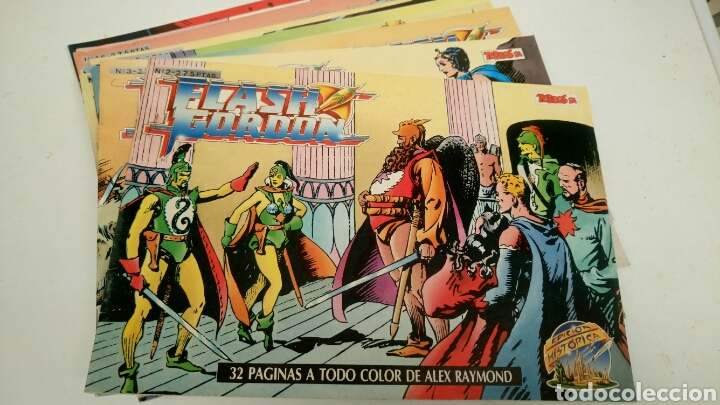 Cómics: Flash Gordon, de Alex Raymond, lote de 5, sueltos a 1,95 €. - Foto 1 - 189825427