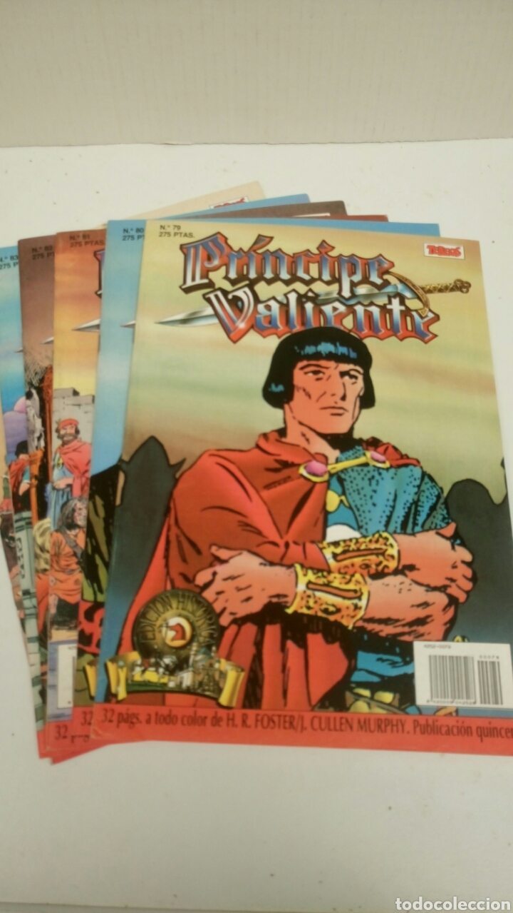 PRINCIPE VALIENTE, LOTE DE 6 NUMEROS, SUELTOS A 1,95 €. (Tebeos y Comics - Ediciones B - Otros)