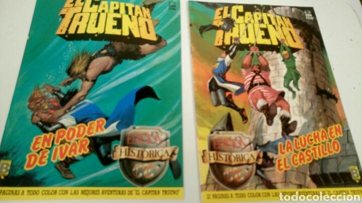 Cómics: El Capitan Trueno, lote de 7 nums. Sueltos a 1,95 €. - Foto 2 - 161776949
