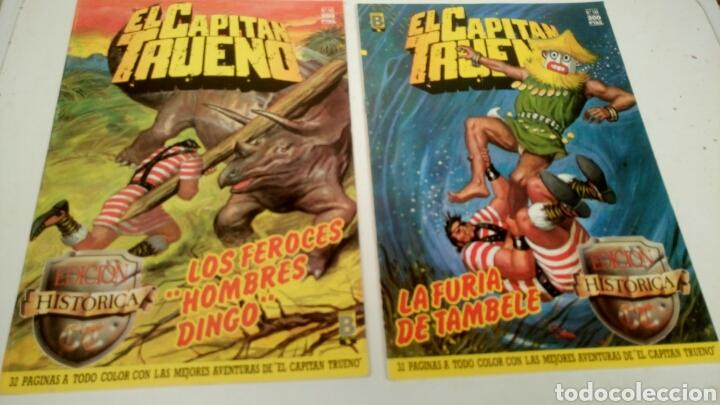 Cómics: El Capitan Trueno, lote de 7 nums. Sueltos a 1,95 €. - Foto 4 - 161776949