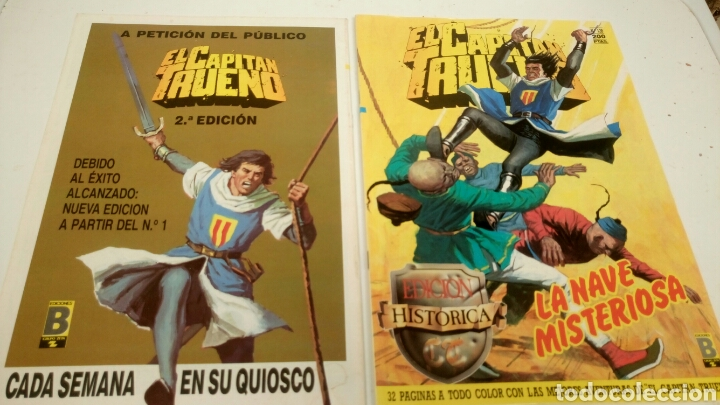 Cómics: El Capitan Trueno, lote de 7 nums. Sueltos a 1,95 €. - Foto 5 - 161776949