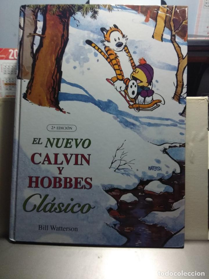 GRAN TOMO CALVIN Y HOBBES : EL NUEVO CLASICO (POR BILL WATTERSON ) (Tebeos y Comics - Ediciones B - Otros)