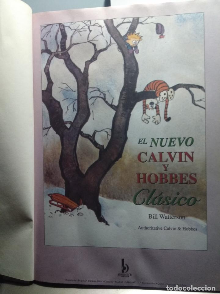 Cómics: GRAN TOMO CALVIN Y HOBBES : EL NUEVO CLASICO (POR BILL WATTERSON ) - Foto 2 - 161913926