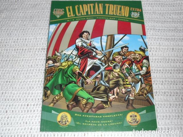 Cómics: EL CAPITAN TRUENO- V.MORA. FUENTES MAN. - 3 EJEMPLARES NUMS. 3 - 12 - 23 - - Foto 2 - 164274398