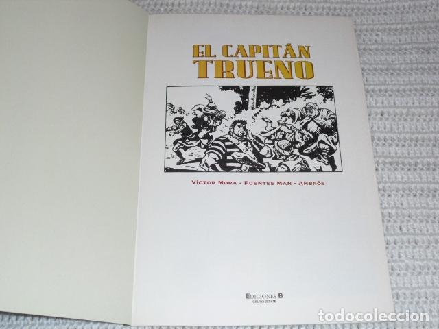 Cómics: EL CAPITAN TRUENO- V.MORA. FUENTES MAN. - 3 EJEMPLARES NUMS. 3 - 12 - 23 - - Foto 3 - 164274398