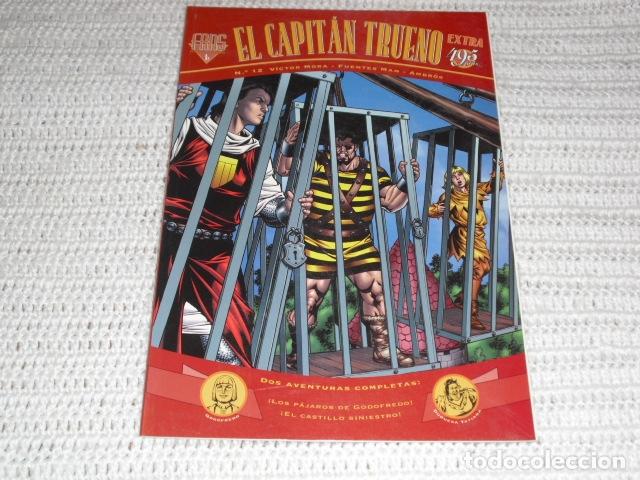 Cómics: EL CAPITAN TRUENO- V.MORA. FUENTES MAN. - 3 EJEMPLARES NUMS. 3 - 12 - 23 - - Foto 6 - 164274398