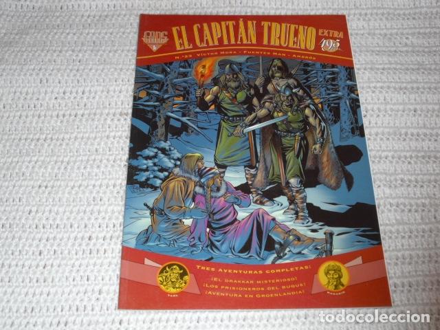 Cómics: EL CAPITAN TRUENO- V.MORA. FUENTES MAN. - 3 EJEMPLARES NUMS. 3 - 12 - 23 - - Foto 11 - 164274398