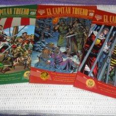 Cómics: EL CAPITAN TRUENO- V.MORA. FUENTES MAN. - 3 EJEMPLARES NUMS. 3 - 12 - 23 -. Lote 164274398
