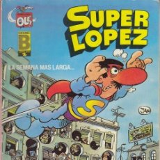 Cómics: OLE SUPER LOPEZ EDICIONE B SL6 - 3ª EDICION. Lote 164727826