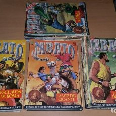 Cómics: LOTE 87 COMICS JABATO EDICION HISTÓRICA DEL 1 AL 88. Lote 165180778