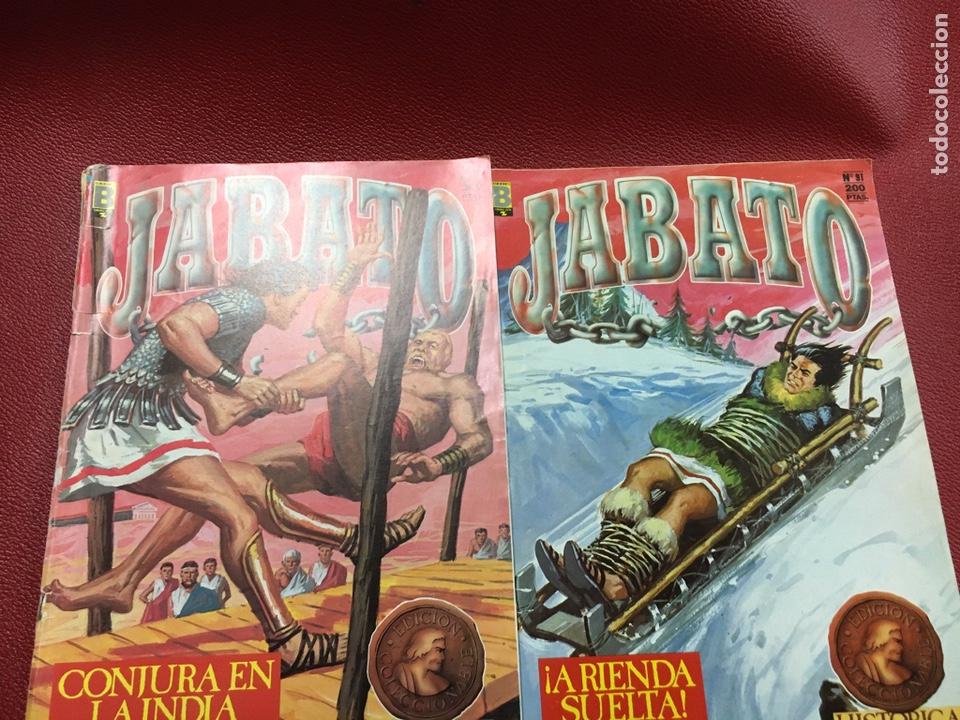 JABATO N 11- 91- (Tebeos y Comics - Ediciones B - Clásicos Españoles)