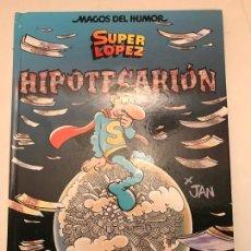 Cómics: MAGOS DEL HUMOR Nº 117. SUPERLOPEZ SUPER LOPEZ. HIPOTECARIÓN. EDICIONES B 1ª EDICION 2007. Lote 165618538