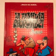 Cómics: MAGOS DEL HUMOR Nº 145. LA FAMILIA CHURUMBEL. EDICIONES B 1ª EDICION 2011. NUEVO. Lote 165619038